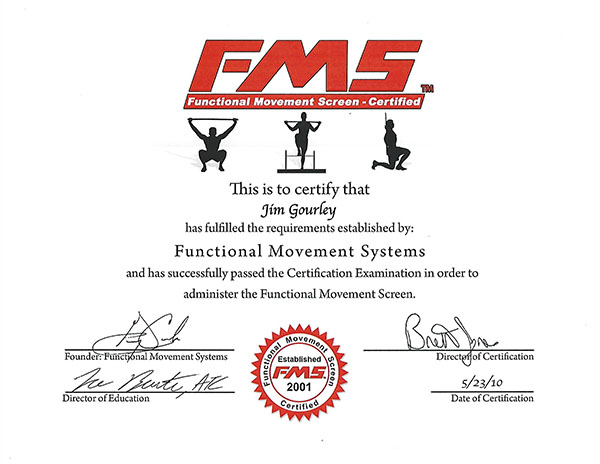 FMS Certification Santa Barbara